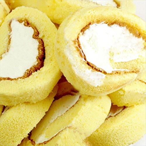 [訳あり]端っこ入り純正生クリームロールケーキ1kg
