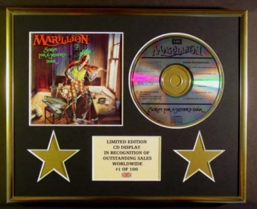 Marillion / CD Display / Limited Edition / Script For A Jester 's Tear