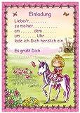 24-teiliges Einladungsset PRINZESSIN in DIN A5 vom Döll-Verlag