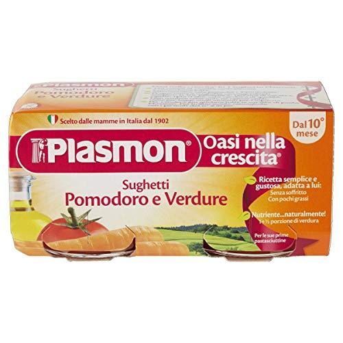 Plasmon Sughetto Pomodoro e Verdure, 24 x 80 g