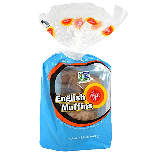 Ener-G Foods English Muffins Elegant Ranking TOP6 14.8-Ounce Pack Units of 6