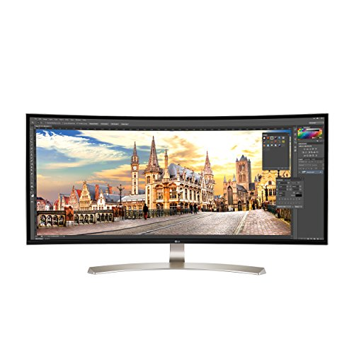 LG 38uc99-w 96,5 cm 21: 9 Curvada UltraWide QHD + Monitor IPS con Bluetooth Altavoces