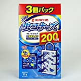 KINCHO 金鳥 虫コナーズ プレートタイプ 200日用×3個パック