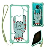HUAYIJIE Universel Funda para Tracfone Alcatel TCL A3x A600dl Funda Carcasa Case Cover Compatible 4'-6.6' LSZ
