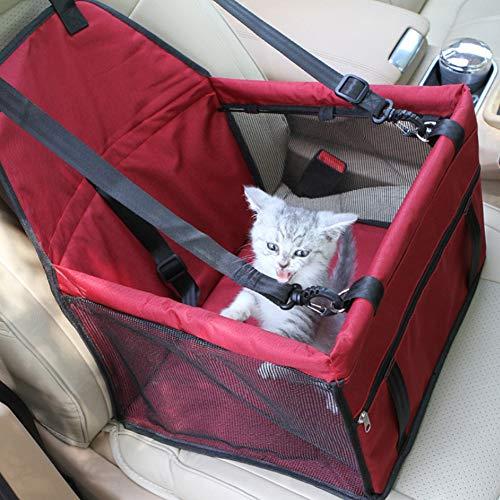 Pet Verstärken Auto Booster Sitz Katze Hund Packung Auto Reisetasche Outdoor Pet Paket Hund & Katze Warme Weiche Matte Dicke wasserdichte Hundesitz