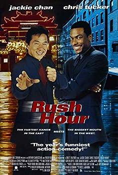 MariposaPrints 65872 Rush Hour Movie Jackie Chan hris Tucker Decor Wall 36x24 Poster Print