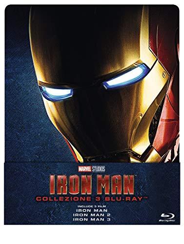 Iron Man Trilogy (3 Blu-Ray) (Steelbook)...
