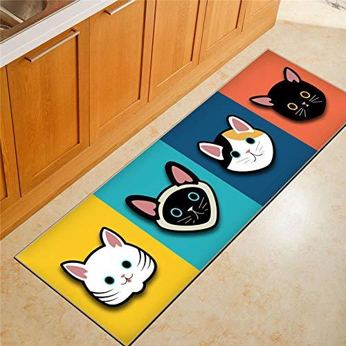 djnp tapijt, rechthoekig, geschilderd, karikatuur, patroon, geschikt voor binnen, badkamer, keuken ingang, onverslaanbare goederen