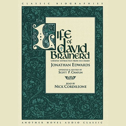 Life of David Brainerd audiobook cover art