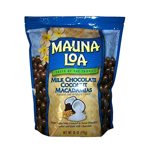 MAUNALOA(マウナロア) Mauna Loa Milk Chocolate ココナッツ・マカダミア (793g )大袋