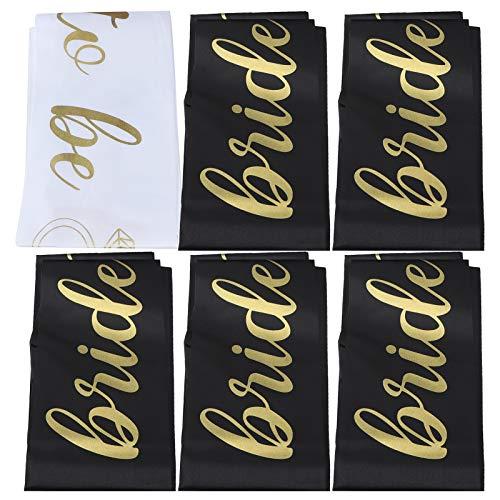 Agatige Shoulder Strap Polyester Banners, Shoulder Strap Wedding shawl Wedding Bridal Decoration Party Jewelry Accessories