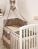 PRO COSMO 11 Piezas juego de ropa de cama para cuna de bebé cama edredón,...