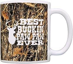 Grandpa Gifts Hunting Camo Best Buckin' Paw Paw Ever Gift Coffee Mug Tea Cup Camo