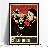 A&D Tribe Called Quest Musik Sänger Poster Hip Hop Rap