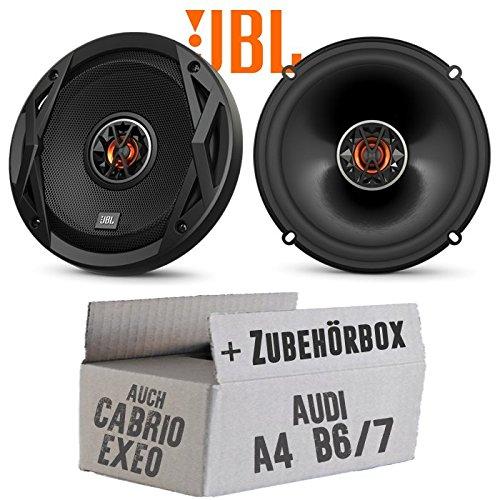 Lautsprecher Boxen JBL Club 6522   2-Wege   16cm Koax Auto Einbauzubehör - Einbauset für Audi A4 B6/7 Seat Exeo - JUST SOUND best choice for caraudio