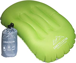 Constellation Outfitters Ultralight Inflatable Camping & Backpacking Pillow - No Leak Valve - Air Pillow for Camp Travel H...