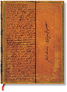 William Shakespeare Wrap: Lined Journal (Embellished Manuscripts)
