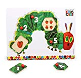 Very Hungry Caterpillar Wooden Peg Puzzle by Global Baby
