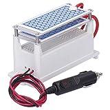 Purificador de aire para automóvil, máquina de ozono para automóvil, generador de ozono, equipo portátil para desodorización de automóviles pequeños, purificador de aire 10g DC 12V