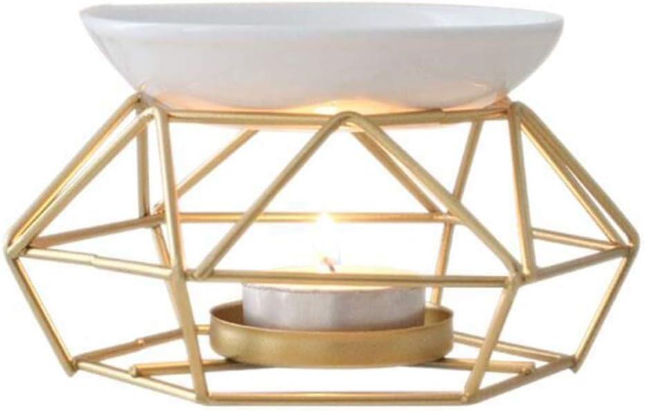 LINNSZ Aromatic Oil Burner Ranking Now on sale TOP13 Geometric Ceramic Essential Candl