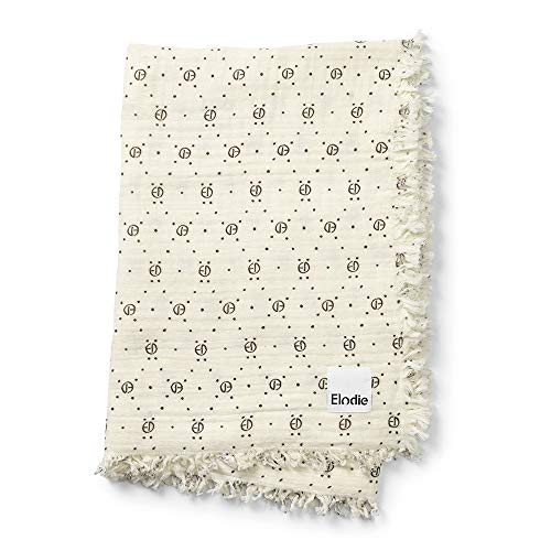 Gold Senffarben Elodie Details Weiche Pucktuch Babydecke aus 100/% Oeko-Tex Baumwolle 75 x 100 cm