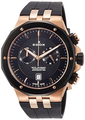 [エドックス] 腕時計 10110-357RNCA-NIR 正規輸入品 ブラック