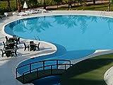 Schwimmbeckenfarbe Lafazit 5 L Liter Blau Schwimmbadfarbe Beschichtung Poolfarbe Poolbeschichtung