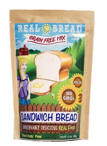 Paleo-Keto Friendly-Grain Free Sandwich Bread Mix 10.2 oz