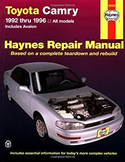 By Robert Maddox - Toyota Camry (1992-1996) Automotive Repair Manual (Haynes Automotive Repair Manuals) (3rd Revised edition) (1.2.1996)