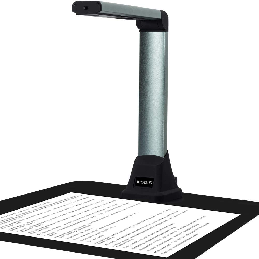 iCODIS Portable Don't miss the campaign Complete Free Shipping Document Camera X1 Scanner Teac A4 for