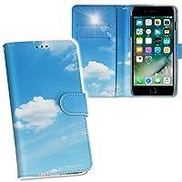 igcase iPhone11 pro 5.8インチ 専用ケース 手帳型 スマホカバー 両面プリント ケース カバー レザー ケース 手帳タイプ フリップ ダイアリー 二つ折り 革 フルデザイン 000959 その他 空 雲