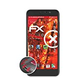 atFolix Schutzfolie kompatibel mit Archos Core 50P Folie, entspiegelnde & Flexible FX Bildschirmschutzfolie (3X)