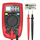 Etekcity Digital Multimeter, Amp Volt Ohm Voltage Tester Meter with Diode and Continuity Test, Dual...