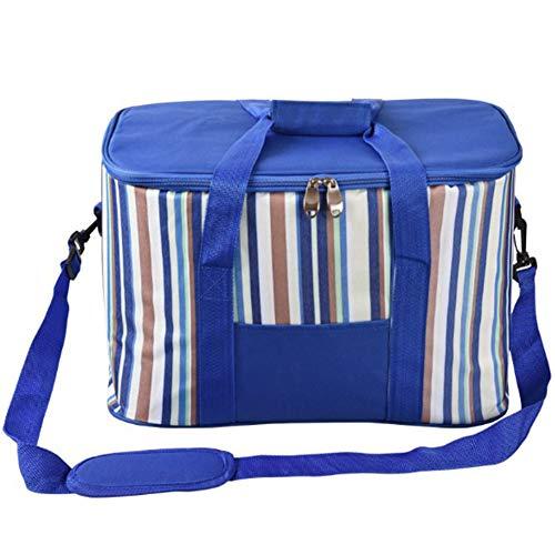 YAOBAO 35L Lunch Bag Sac Isotherme Sac Isotherme Picnic Cooler Boîte À Lunch Isolée Résistant À l'eau Thermique Grand Léger, Pack De 1