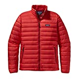 Patagonia Mens Down Sweater Jacket (Large, French Red)
