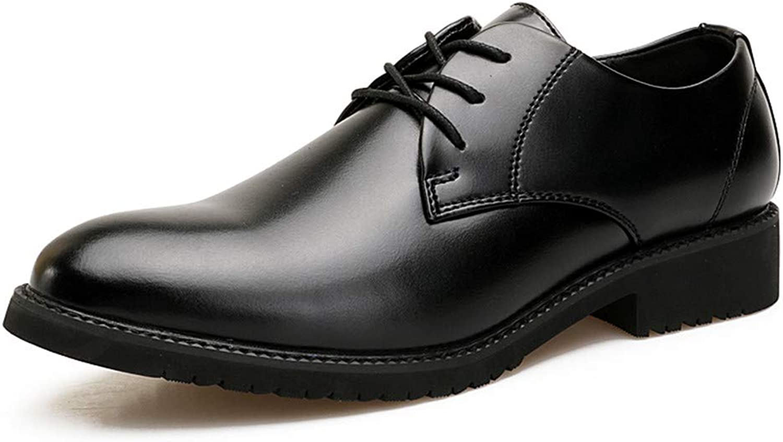 Shuo lan hu wai Geschäfts-Oxford-beiläufige Klassische Spitze Spitze Spitze Bequeme Bequeme weiche hochwertige Formale Schuhe Männer,Grille Schuhe (Farbe   Schwarz, Größe   41 EU)  236da9