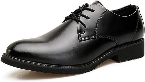 Schuhe Herren Business Oxford Casual Einfache Klassische Retro Moderne Britische Art Formale Schuhe Lederschuhe
