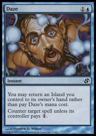 Magic The Gathering - Daze - Duel Decks: Jace vs Chandra