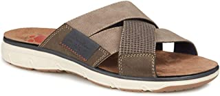 Relife by Pavers Mens Lightweight Slip On Sandals Summer Shoes