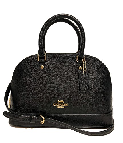 Coach Mini Sierra Satchel Purse F37217 Black