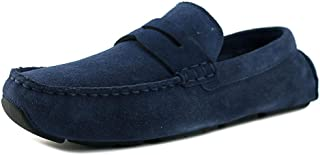 af8f93a17a6 Cole Haan Kelson Penny Loafer Drivers Blazer Blue Suede Shoes