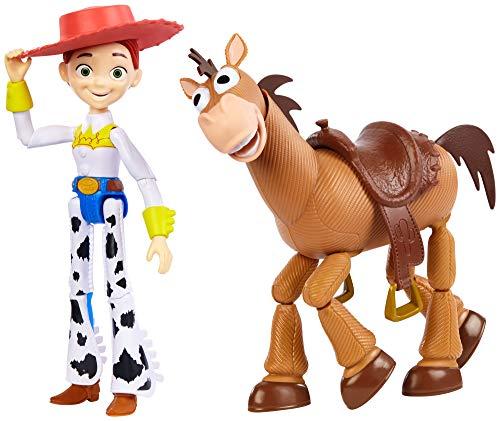 Disney Toy Story 4 Pack de 2 Muñecos, Jessie y Perdigón , Juguetes Niños +3 Años (Mattel Gjh82)