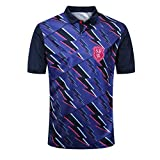 CRBsports Stade Francais Paris, Armée Rose, Les Stadistes, Home Edition, Maillot Rugby, Nouveau Tissé Brodé, Swag Sportswear (Violet, 3XL)
