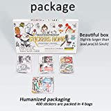 Zoom IMG-2 stickers home 400 pcs set