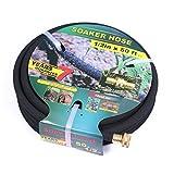 Taisia Soaker Hose 50 ft with 1/2'' Diameter - Bronze Interface Saves 70%...