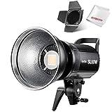 Godox SL-60W 60W LEDビデオライト ボーウェンスマウント CRI95+ Qa>90 5600±300K BD-04バーンドア同梱