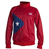 Red Puerto Rico National Flag Caribbean Jacket Tracksuit Jumper Man Top