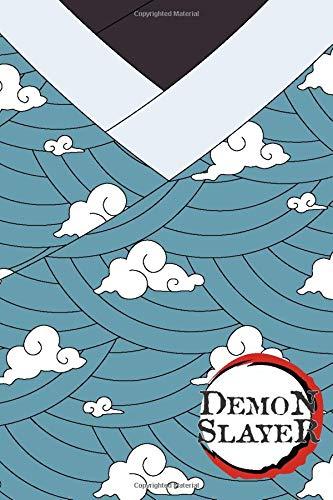 Demon Slayer: Blank Lined Journal | Tanjiro Kamado Training Cloud Kimono Demon Slayer Kimetsu no Yaiba | Writing Journal Notebook Diary Note Taker | ... Cosplay Nerd Geek Gift Present Entertainment