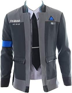 mangu COSTORY Become Human Connor Jacket Cosplay Costume Men Coat Uniform Suit
