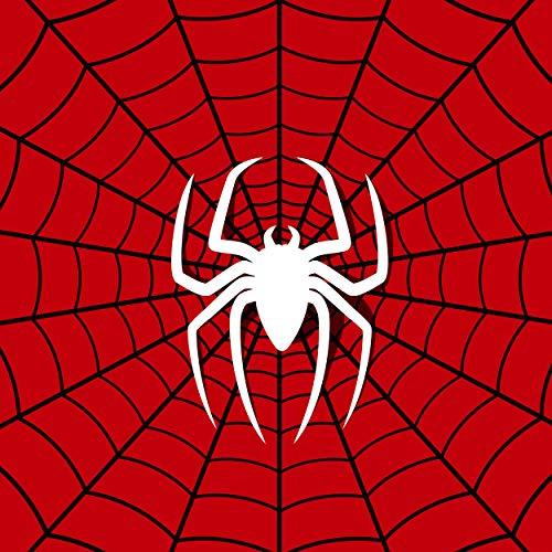 MUSOLEI - Juego de funda de edredón de araña para niños y niñas, con funda de almohada impresa en 3D, funda de edredón doble, cremallera, personalizable, individual y doble, poliéster, Araña-1, suelto